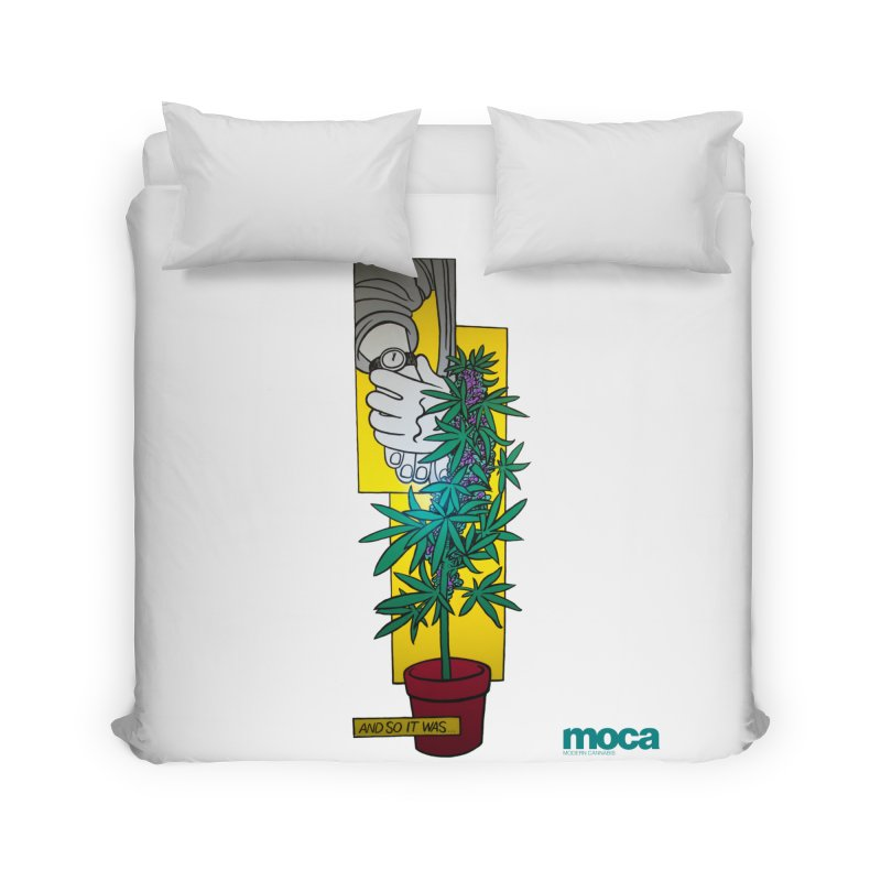 Mosher Show Home Duvet by MOCAshop's Artist Shop