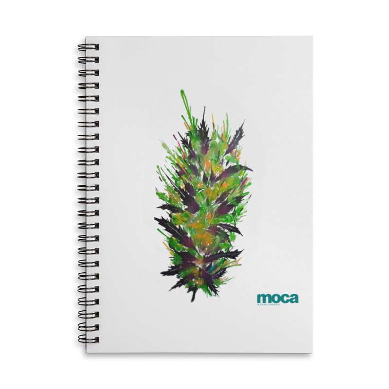 Nick Fonte Accessories Lined Spiral Notebook by MOCA