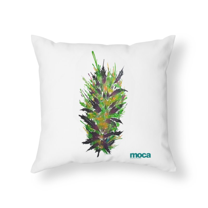 Nick Fonte Home Throw Pillow by MOCA