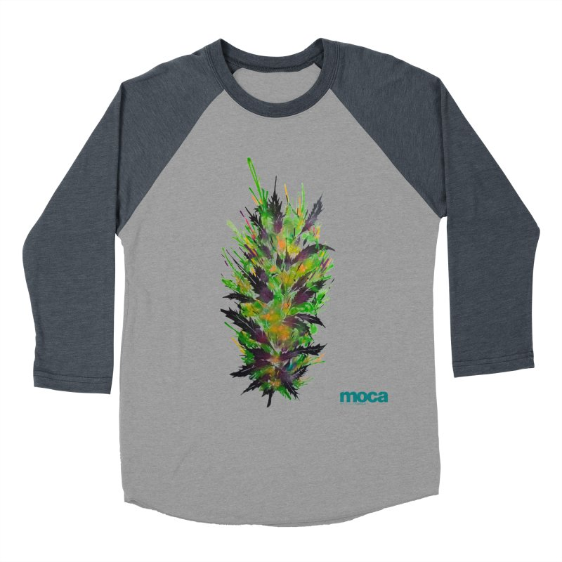 Nick Fonte Men's Baseball Triblend Longsleeve T-Shirt by MOCA