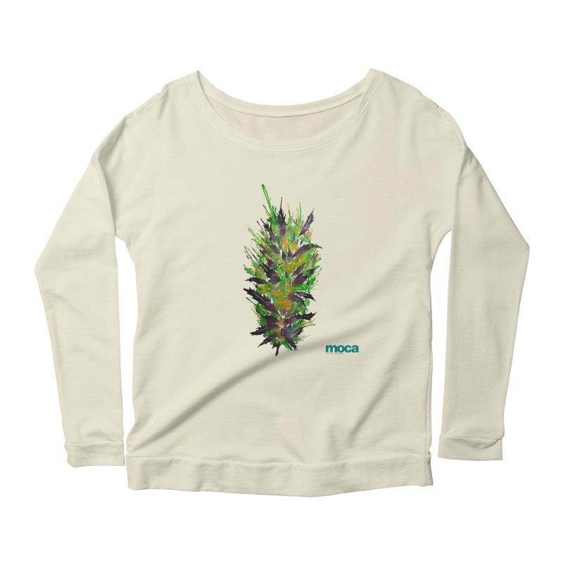 Nick Fonte Women's Scoop Neck Longsleeve T-Shirt by MOCAshop's Artist Shop