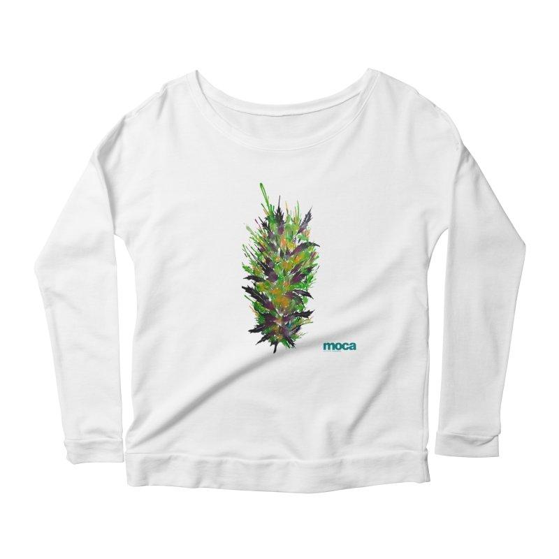 Nick Fonte Women's Scoop Neck Longsleeve T-Shirt by MOCA