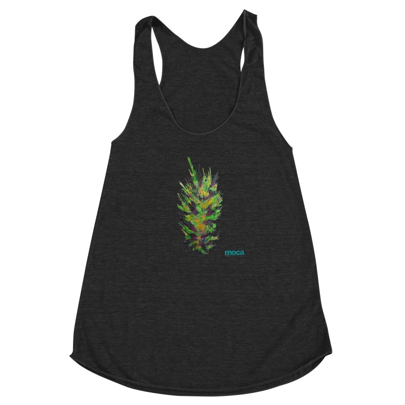 Nick Fonte Women's Racerback Triblend Tank by MOCAshop's Artist Shop