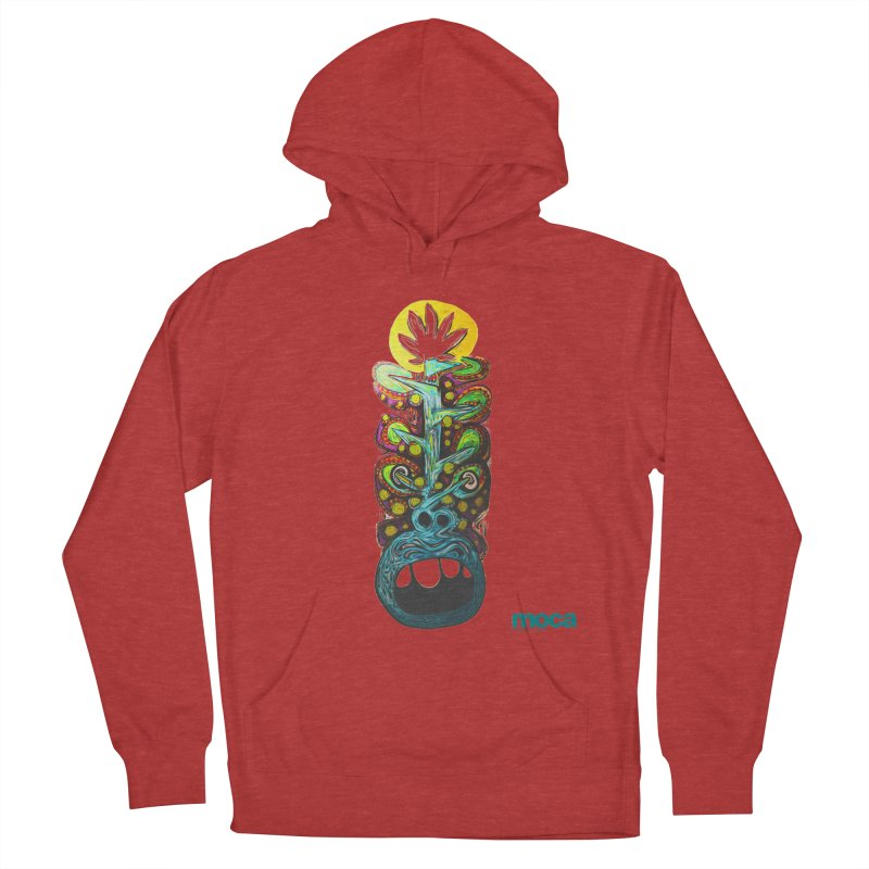 Pat Kneer Women's French Terry Pullover Hoody by MOCAshop's Artist Shop