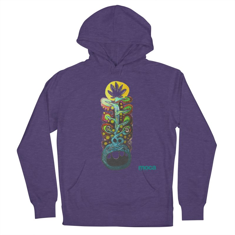 Pat Kneer Men's French Terry Pullover Hoody by MOCAshop's Artist Shop