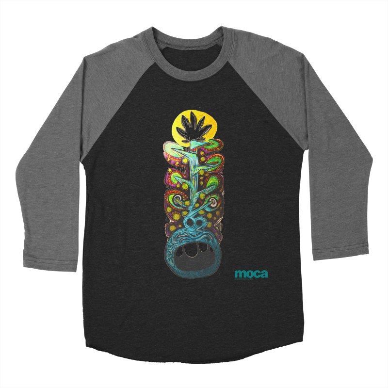 Pat Kneer Women's Baseball Triblend Longsleeve T-Shirt by MOCAshop's Artist Shop