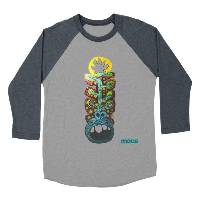 Pat Kneer Men's Baseball Triblend Longsleeve T-Shirt by MOCA