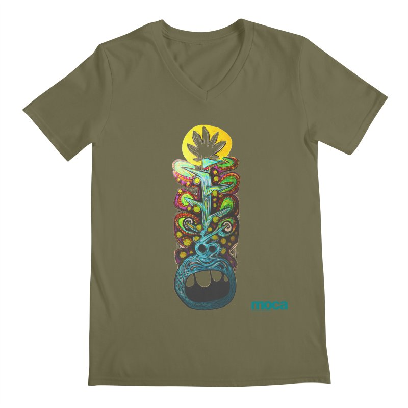 Pat Kneer Men's V-Neck by MOCAshop's Artist Shop