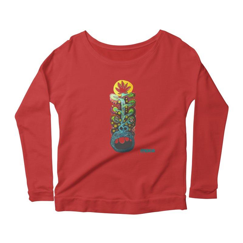 Pat Kneer Women's Scoop Neck Longsleeve T-Shirt by MOCA