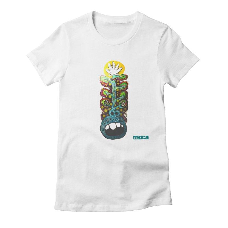 Pat Kneer Women's Fitted T-Shirt by MOCAshop's Artist Shop