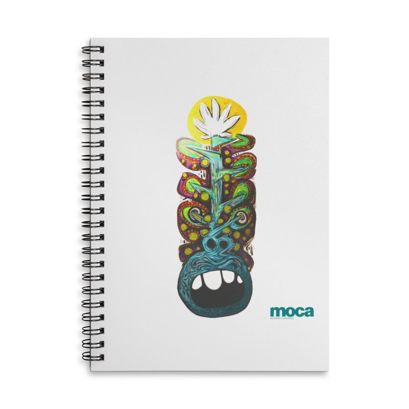 Pat Kneer Accessories Lined Spiral Notebook by MOCA
