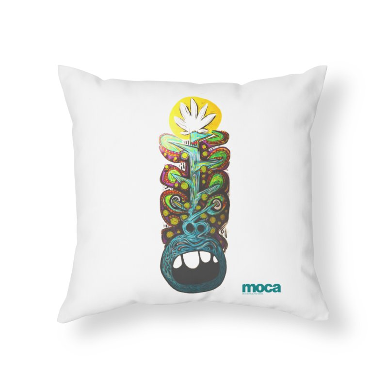 Pat Kneer Home Throw Pillow by MOCA