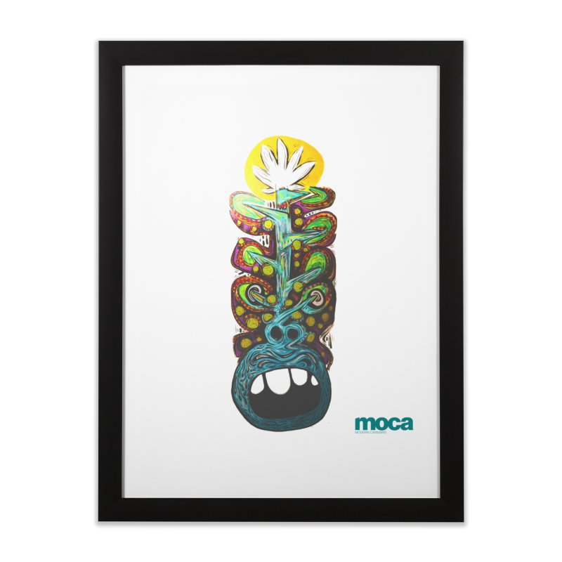Pat Kneer Home Framed Fine Art Print by MOCA