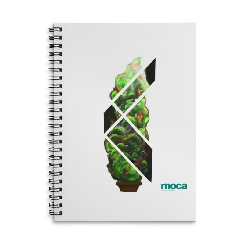 Pure Kreation Accessories Lined Spiral Notebook by MOCA