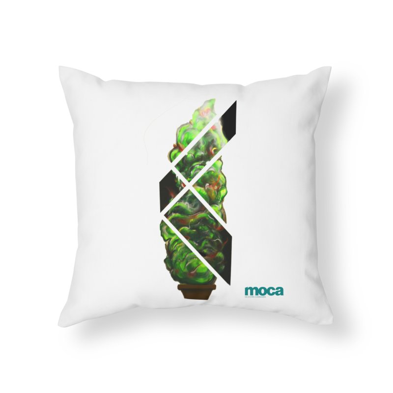 Pure Kreation Home Throw Pillow by MOCA