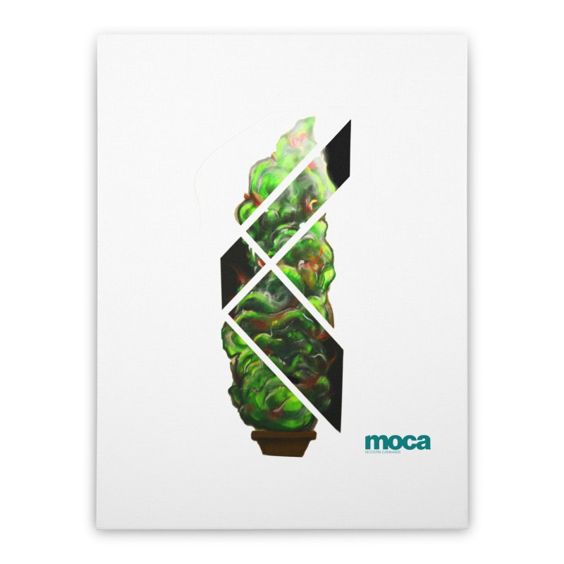 Pure Kreation Home Stretched Canvas by MOCA