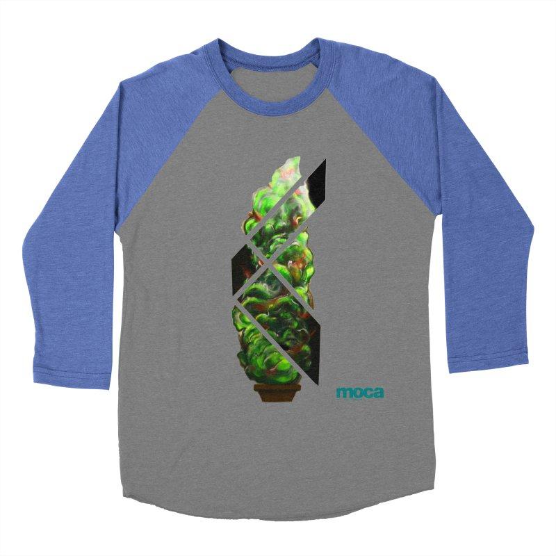 Pure Kreation Men's Baseball Triblend Longsleeve T-Shirt by MOCA