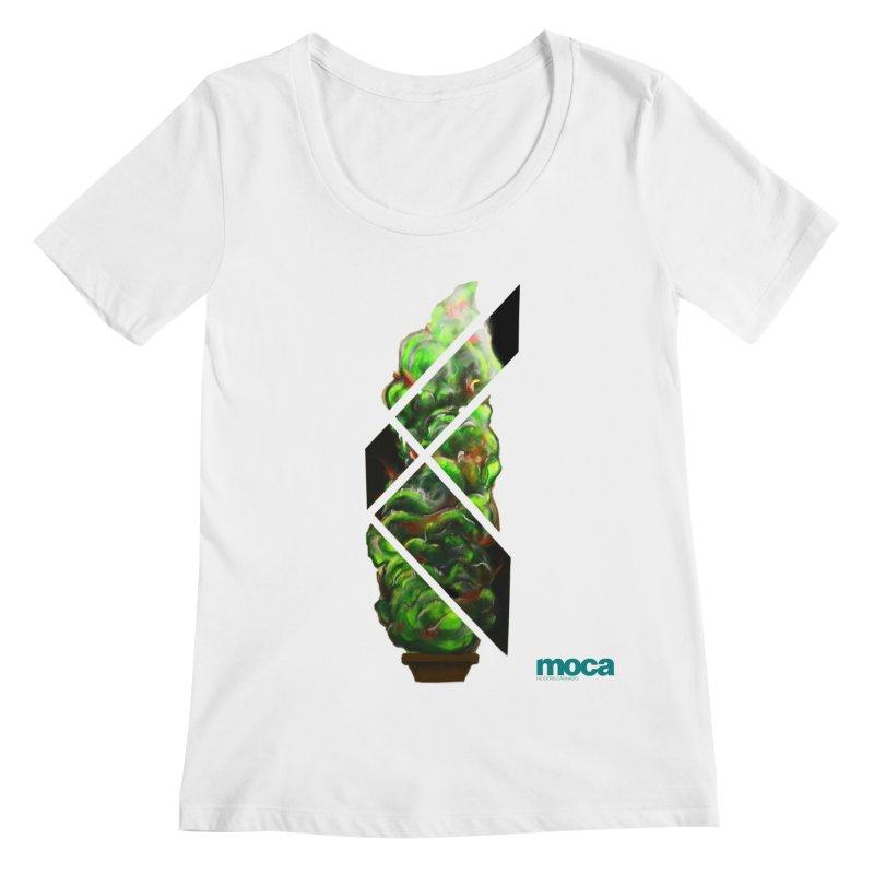 Pure Kreation Women's Regular Scoop Neck by MOCA