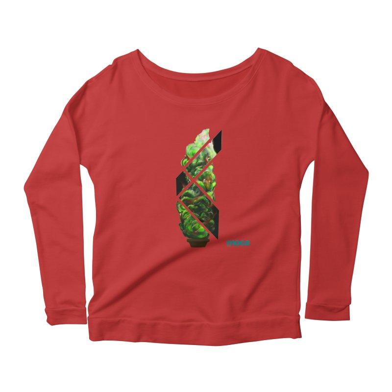 Pure Kreation Women's Scoop Neck Longsleeve T-Shirt by MOCAshop's Artist Shop