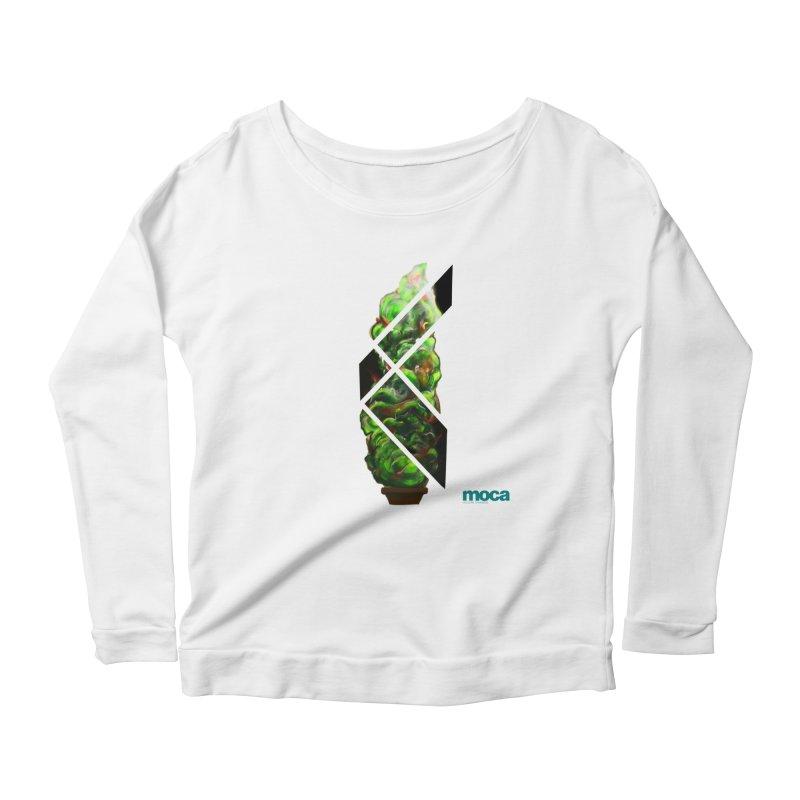 Pure Kreation Women's Scoop Neck Longsleeve T-Shirt by MOCA