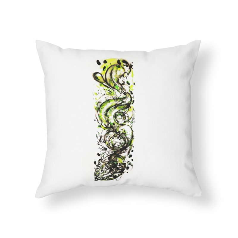 Revise Home Throw Pillow by MOCAshop's Artist Shop