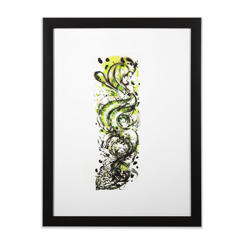 Revise Home Framed Fine Art Print by MOCA