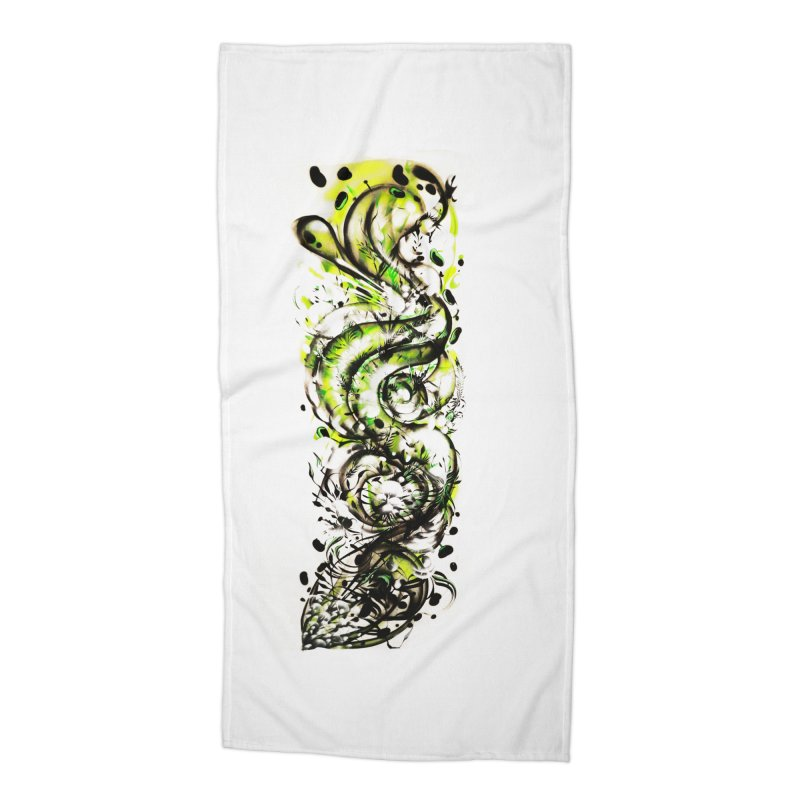 Revise Accessories Beach Towel by MOCAshop's Artist Shop