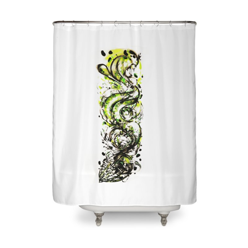 Revise Home Shower Curtain by MOCAshop's Artist Shop