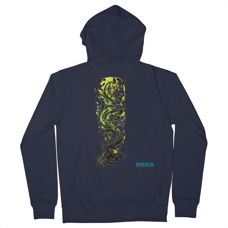 Revise Women's French Terry Zip-Up Hoody by MOCAshop's Artist Shop