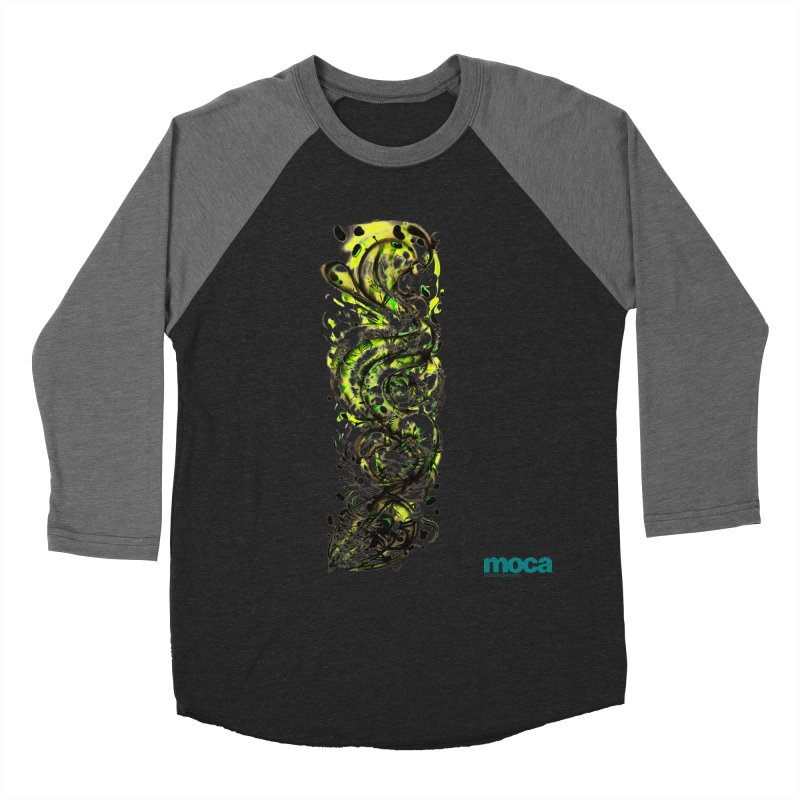 Revise Men's Baseball Triblend T-Shirt by MOCAshop's Artist Shop