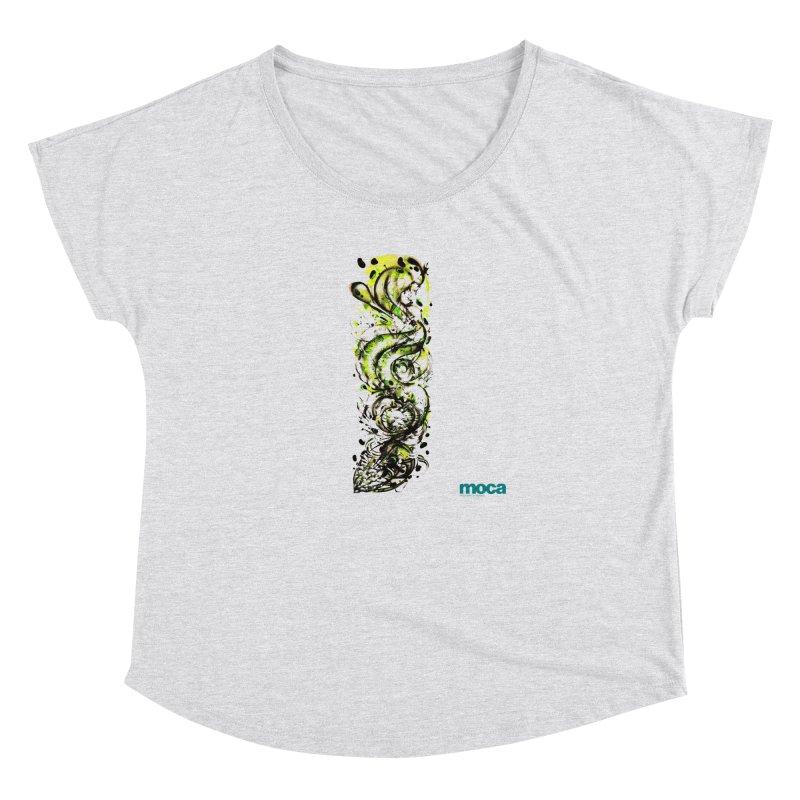 Revise Women's Dolman Scoop Neck by MOCAshop's Artist Shop