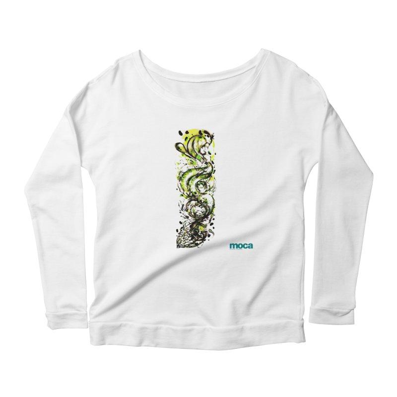 Revise Women's Scoop Neck Longsleeve T-Shirt by MOCA