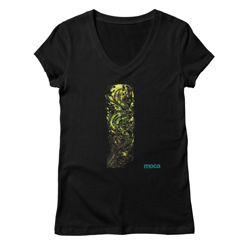Revise Women's V-Neck by MOCA