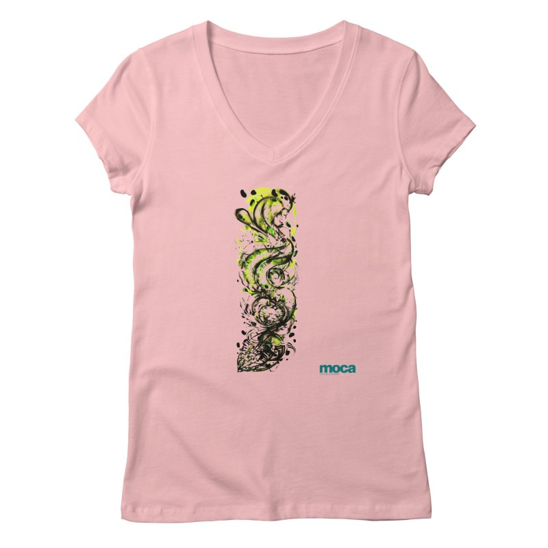 Revise Women's V-Neck by MOCAshop's Artist Shop