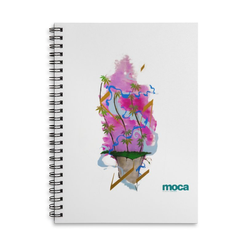 Rome Won Accessories Lined Spiral Notebook by MOCA