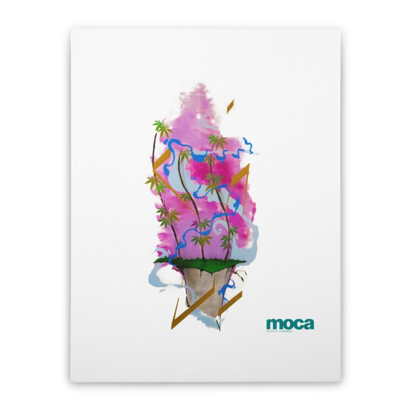 Rome Won Home Stretched Canvas by MOCAshop's Artist Shop