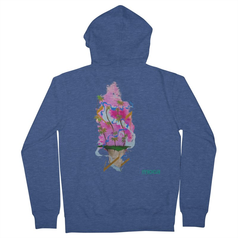 Rome Won Women's French Terry Zip-Up Hoody by MOCAshop's Artist Shop