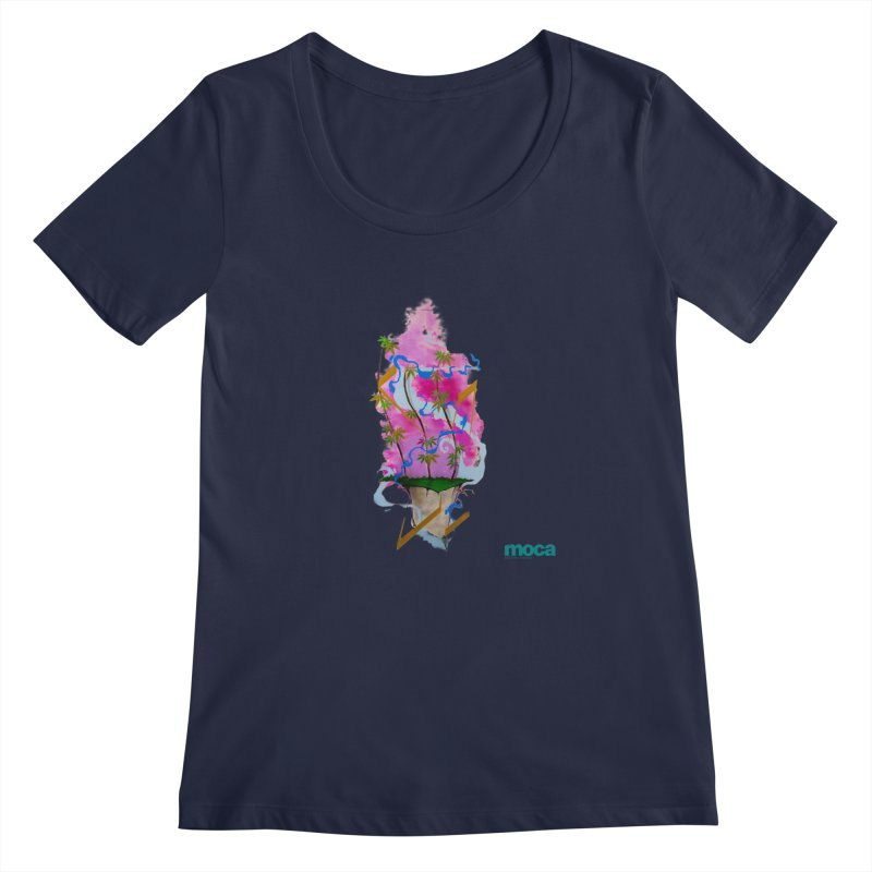 Rome Won Women's Regular Scoop Neck by MOCAshop's Artist Shop