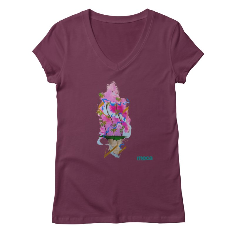 Rome Won Women's V-Neck by MOCAshop's Artist Shop