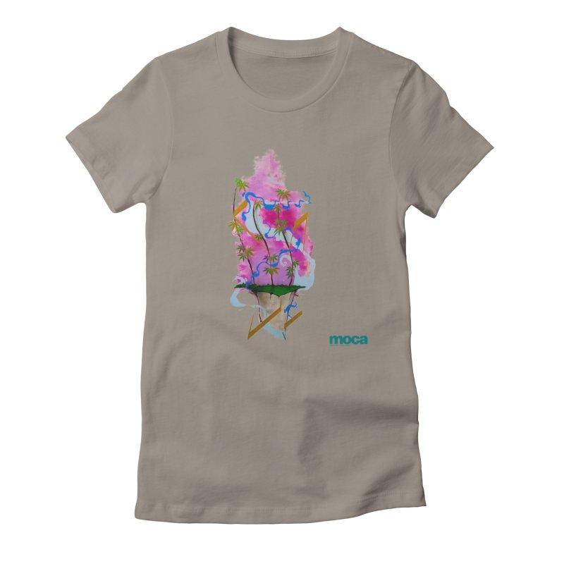 Rome Won Women's Fitted T-Shirt by MOCAshop's Artist Shop