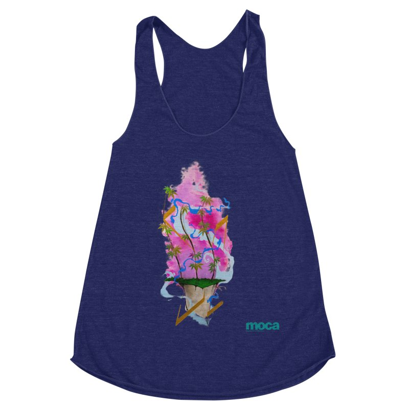 Rome Won Women's Racerback Triblend Tank by MOCA