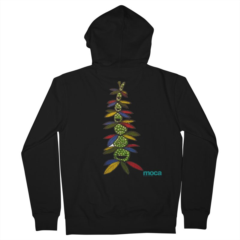 Shawnimal Women's French Terry Zip-Up Hoody by MOCAshop's Artist Shop
