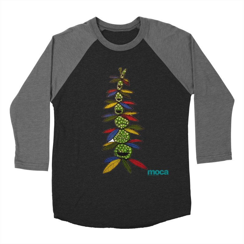 Shawnimal Women's Baseball Triblend Longsleeve T-Shirt by MOCAshop's Artist Shop