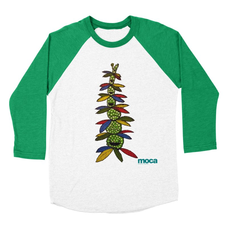 Shawnimal Men's Baseball Triblend Longsleeve T-Shirt by MOCA
