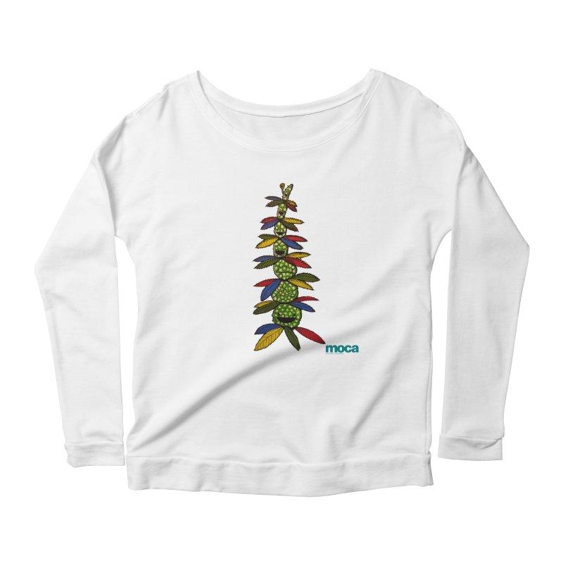 Shawnimal Women's Scoop Neck Longsleeve T-Shirt by MOCA