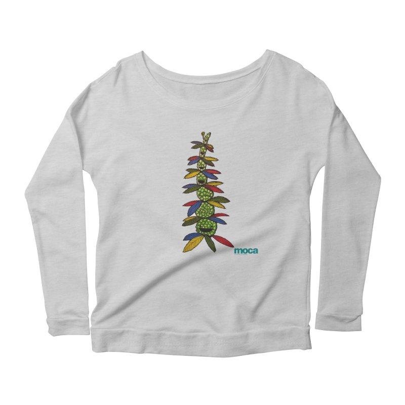 Shawnimal Women's Scoop Neck Longsleeve T-Shirt by MOCAshop's Artist Shop