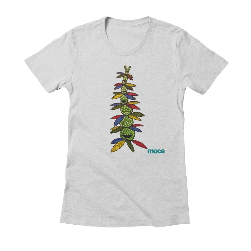 Shawnimal Women's Fitted T-Shirt by MOCAshop's Artist Shop