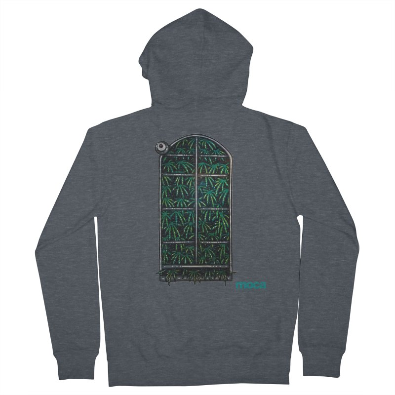 Sick Fisher Women's French Terry Zip-Up Hoody by MOCAshop's Artist Shop