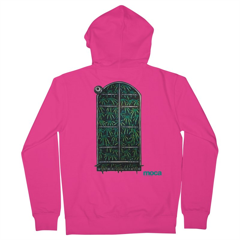 Sick Fisher Men's French Terry Zip-Up Hoody by MOCAshop's Artist Shop