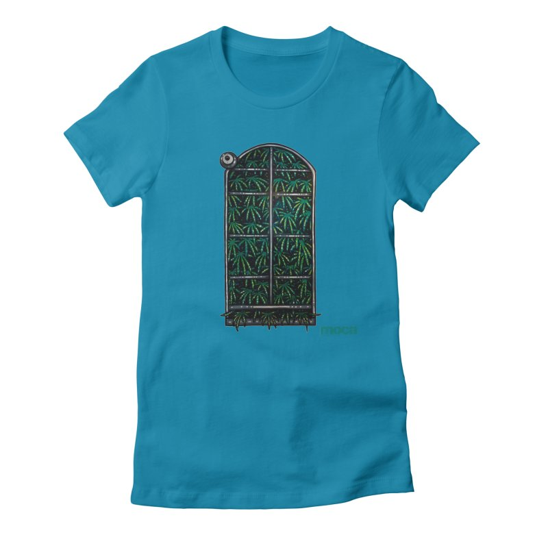 Sick Fisher Women's Fitted T-Shirt by MOCAshop's Artist Shop